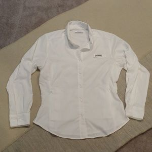 Columbia PFG omni-shade button up shirt